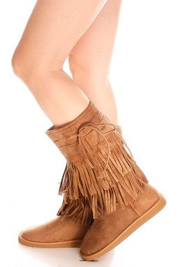 fringe boots,knee high boots,tan boots